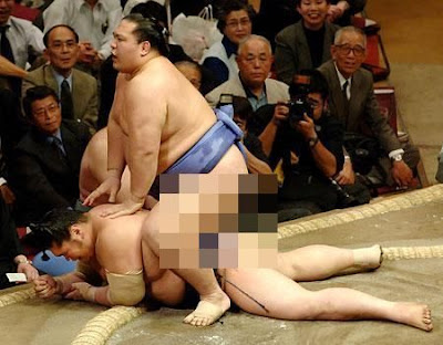 You know that you've lived a long time in Japan when a fully pimped sumo ...