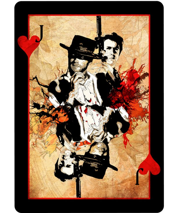 [Playing+card+design+featuring+Clint+Eastwoood+as+Dirty+Harry]