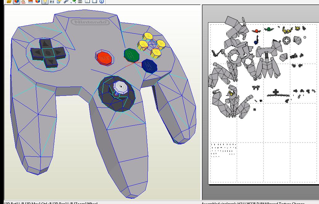 N64 Controller Progress  N64 Controller Layout