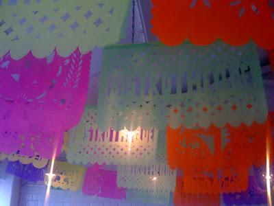 BISTROTHEQUES FIFTH BIRTHDAY Papel Picado Decorations By La Zamorana Tienda De Maravillas And PLB