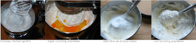 Zubereitung Biskuit - Grundrezept Schritt-für-Schritt-Anleitung