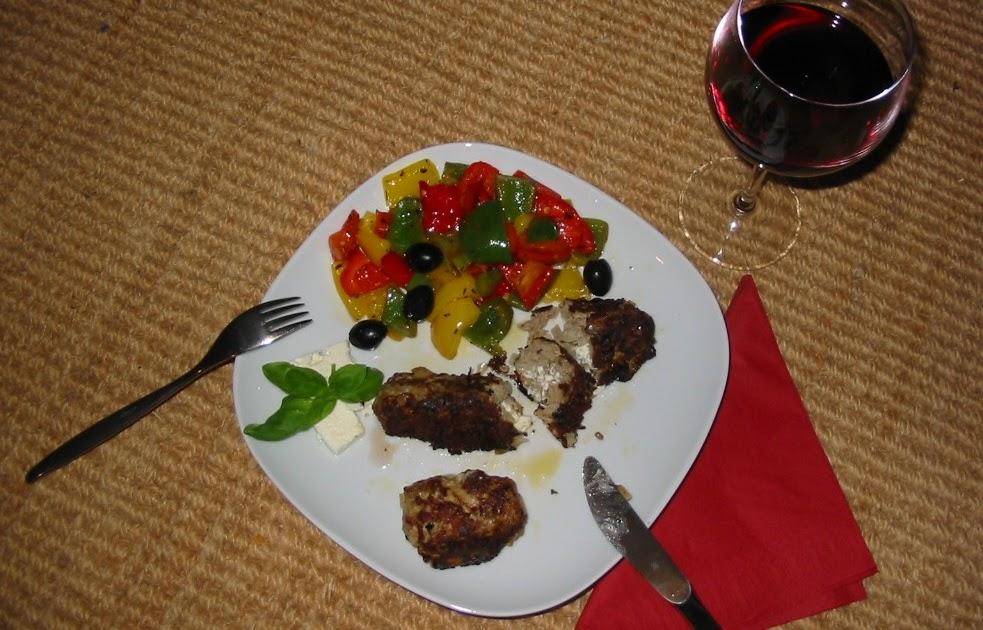 barbaras spielwiese bifteki mit paprika. Black Bedroom Furniture Sets. Home Design Ideas