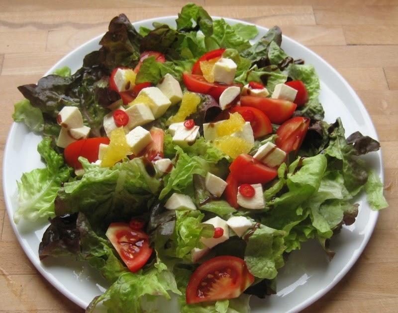 barbaras spielwiese fruchtiger salat mit h hnchen. Black Bedroom Furniture Sets. Home Design Ideas