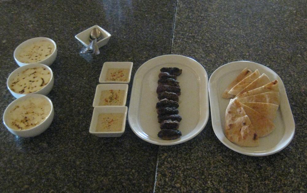 Kofta aus Hackfleisch und Tahini - Kochkurs im Radisson Blu Resort El Quseir