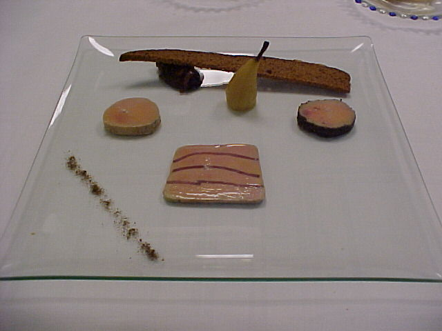 Xavier mouret november 2010 for Assiette foie gras decoration