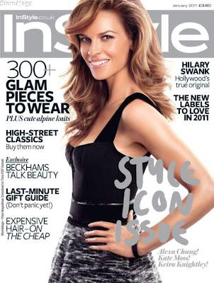 hilary swank 2011. VERDICT: Hilary Swank Covers