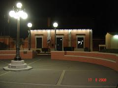 Vista nocturna del Museo Municipal de Marull