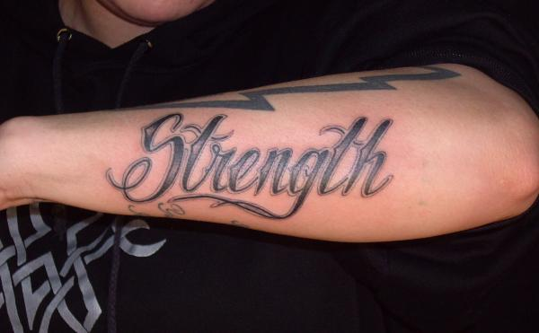 strength quotes tattoos