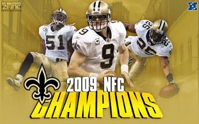New Orleans Saints 2009 NFC Championship Wallpaper