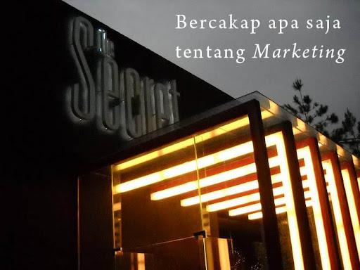 Bercakap apa saja tentang Marketing