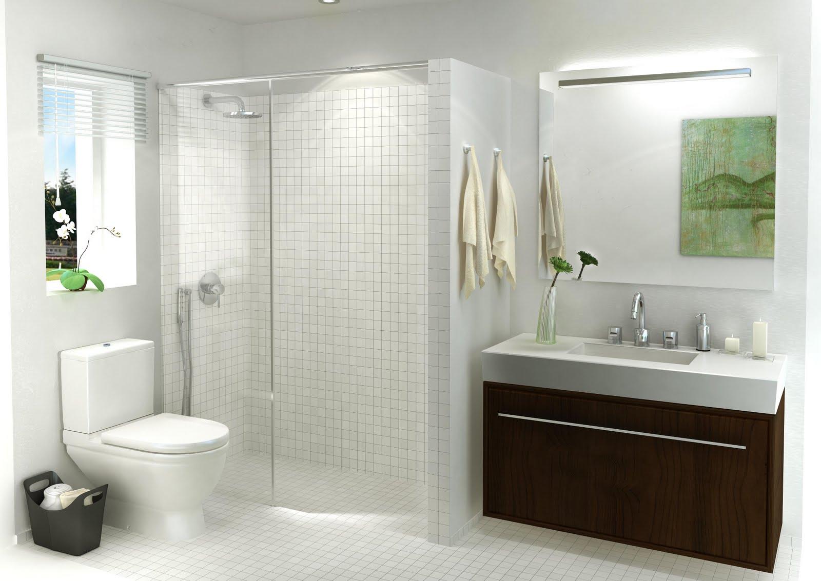 A b developing ideas renders de interiores ba os for Banos interiores