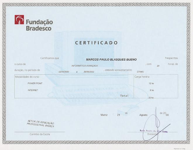 Fundação BRADESCO - Informática Avançada