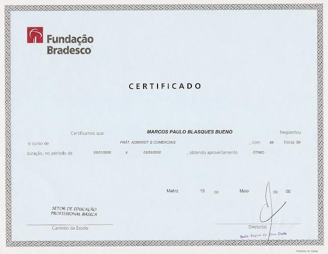 Fundação BRADESCO - Práticas Administrativas e Comerciais
