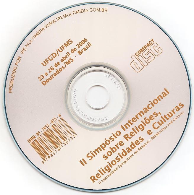 CD ROM II Simpósio Internacional RELIG