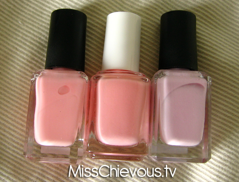 Julia Graf: Essie Van D\'Go Comparisons
