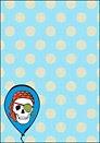 Printable Pirate Skull Invite