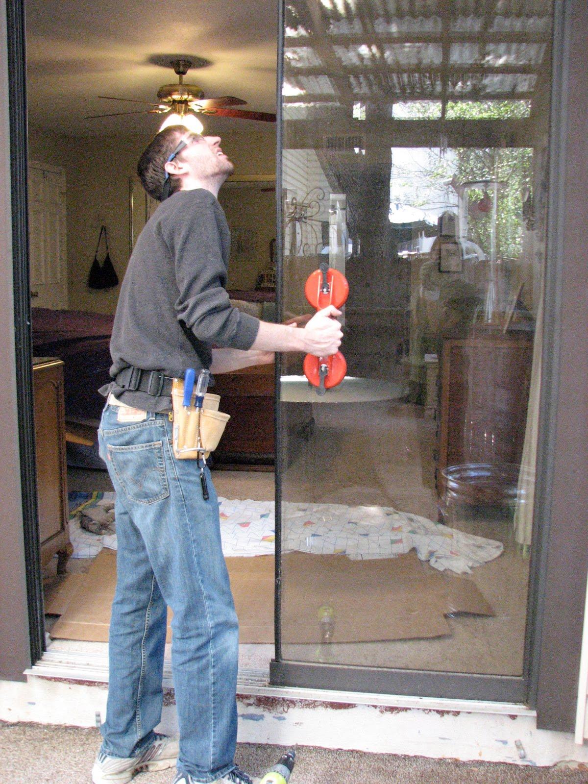 Handy Work Made Easy Replacing Rollers On Sliding Glass Door