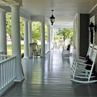 Front Porch of Virginia Historic Home in Stuart VA