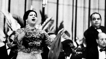 Om Kolthoum of Egypt