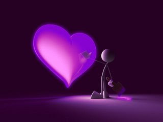 Gambar Love Purple