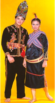 pakaian tradisional malaysia pakaian tradisi kaum kadazan