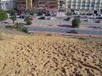 Apesar da protecção continuamos assistir ao constante pisoteio dunar
