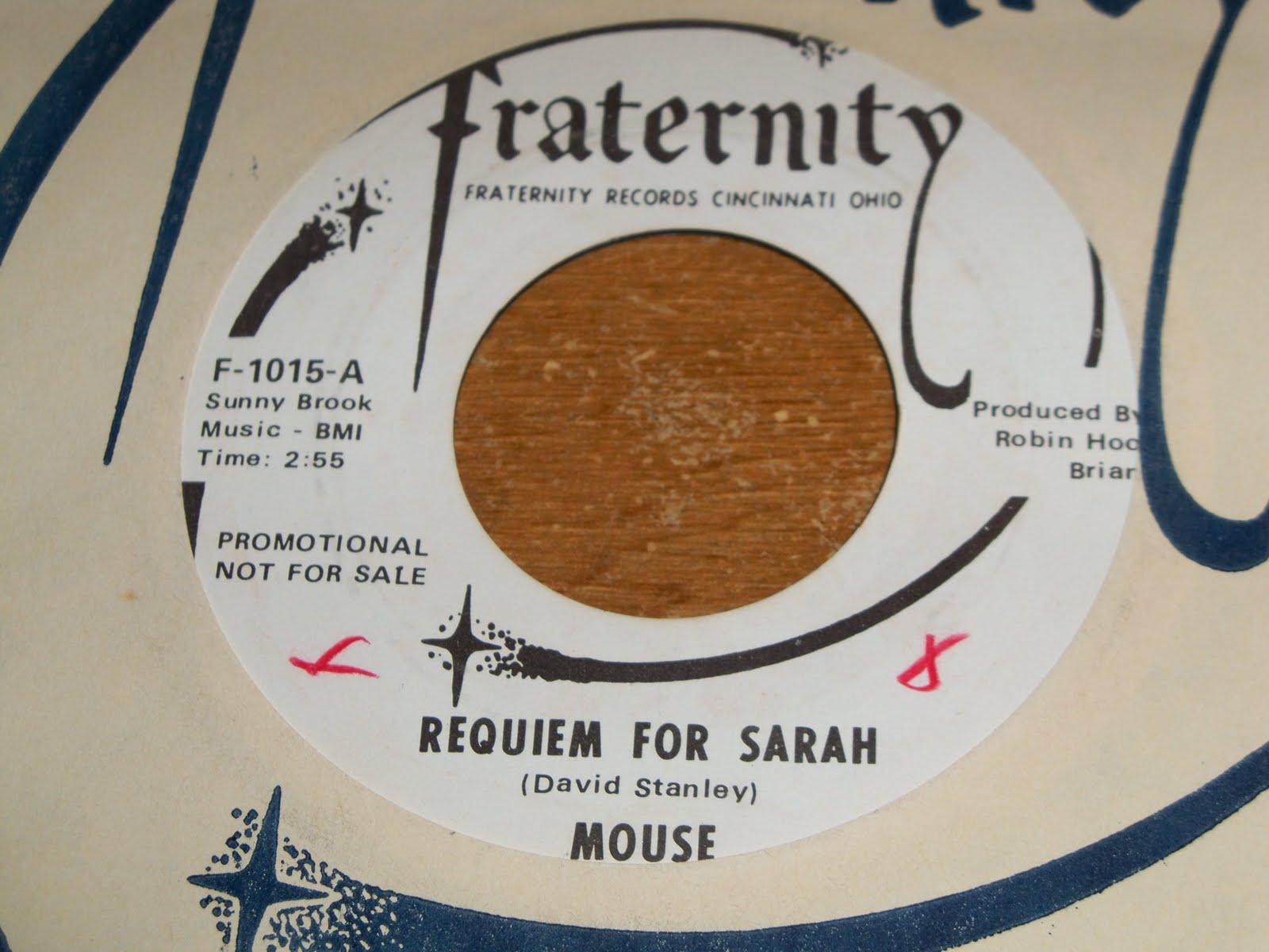Mouse Requiem For Sarah