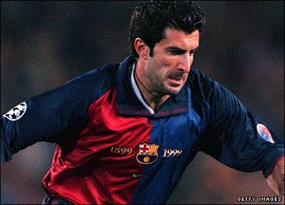 50 Figuras del Barça 2000 - 2011 Figo