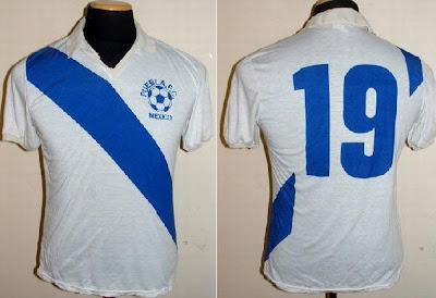 1982 1983 Playera Utilizada Por Francisco Thompson En La Final Puebla