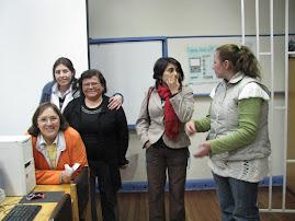Alumnas al final de la Jornada