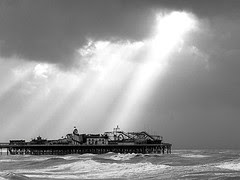 Sunlight on Brighton Pier