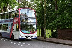 Travel West Midlands bus going round in circles