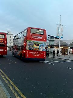 Last bus in Brighton