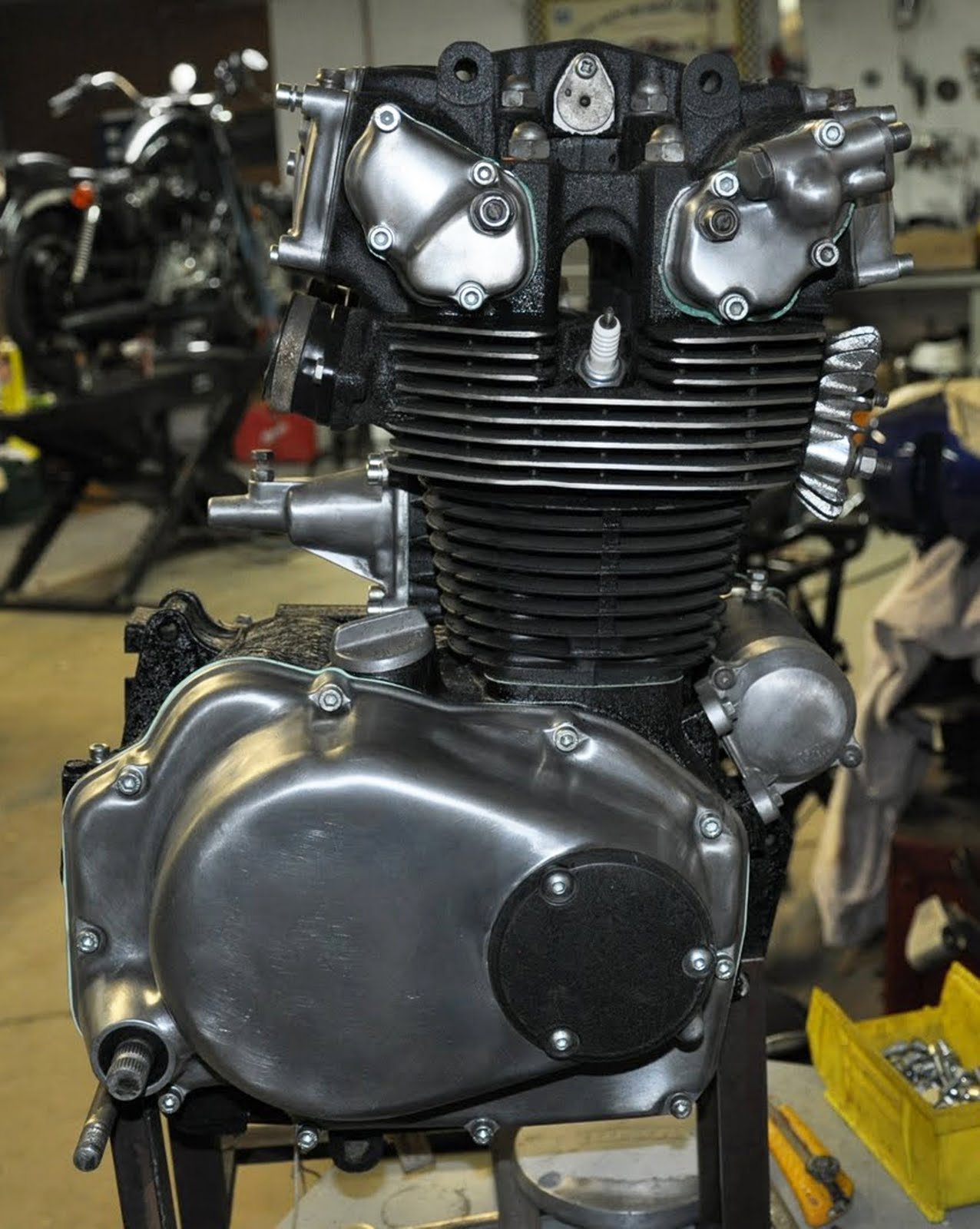 Engine Is Done Cafe Racer Project 1975 Cb500t Wiring Diagram