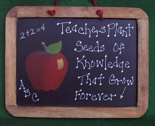 picture of a chalkboard with a quote