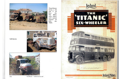 Leyland Titanic bus from Historic Commercial News