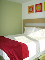 Room in the Butlins Shoreline hotel, Bognor