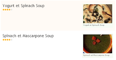 More soups with et instead of and