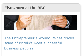Link in sidebar of Robert Peston's blog