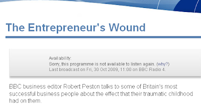 This programme is not available to listen again