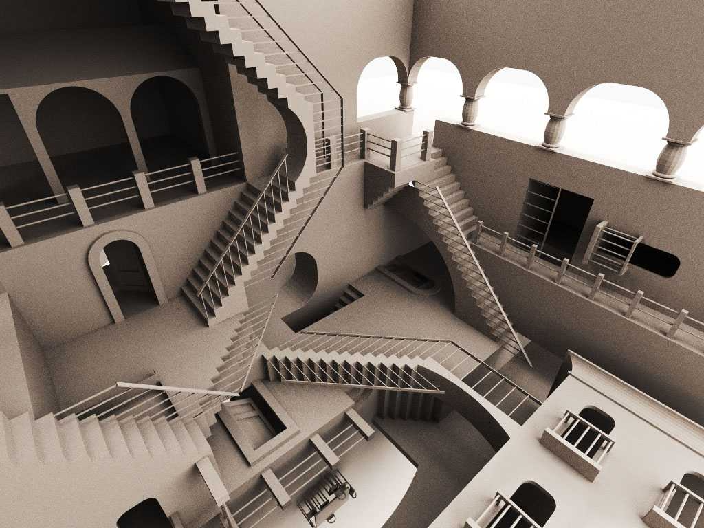 Architecture Optical Illusions Pictures