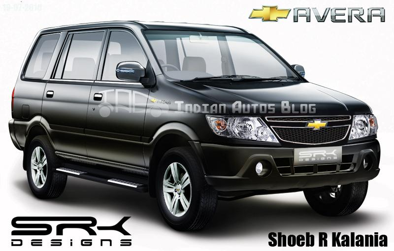 Car News India Rendering 2011 Chevrolet Tavera Facelift With Bs4