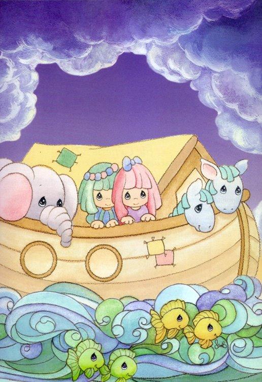 alguien tiene el arca de noe de los precious moments ? !!!