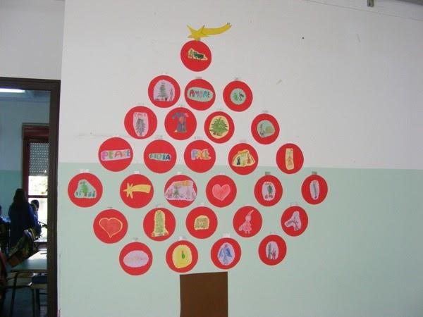 Addobbo natalizio per la parete dell 39 aula facile e di for Addobbi finestre natale scuola infanzia
