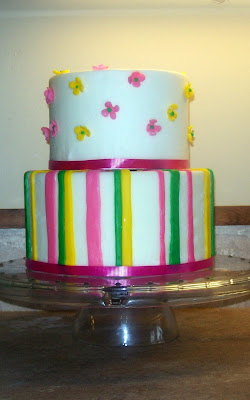 Baby Shower cake, pink cake, feminine cake, Las Vegas Wedding cakes