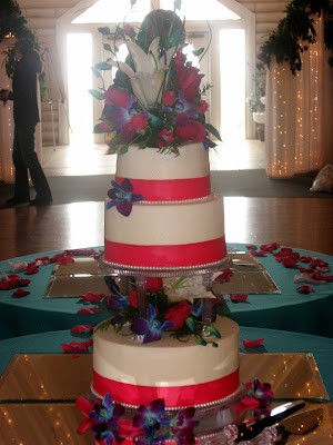 Simple Wedding cake, Las Vegas Wedding cakes