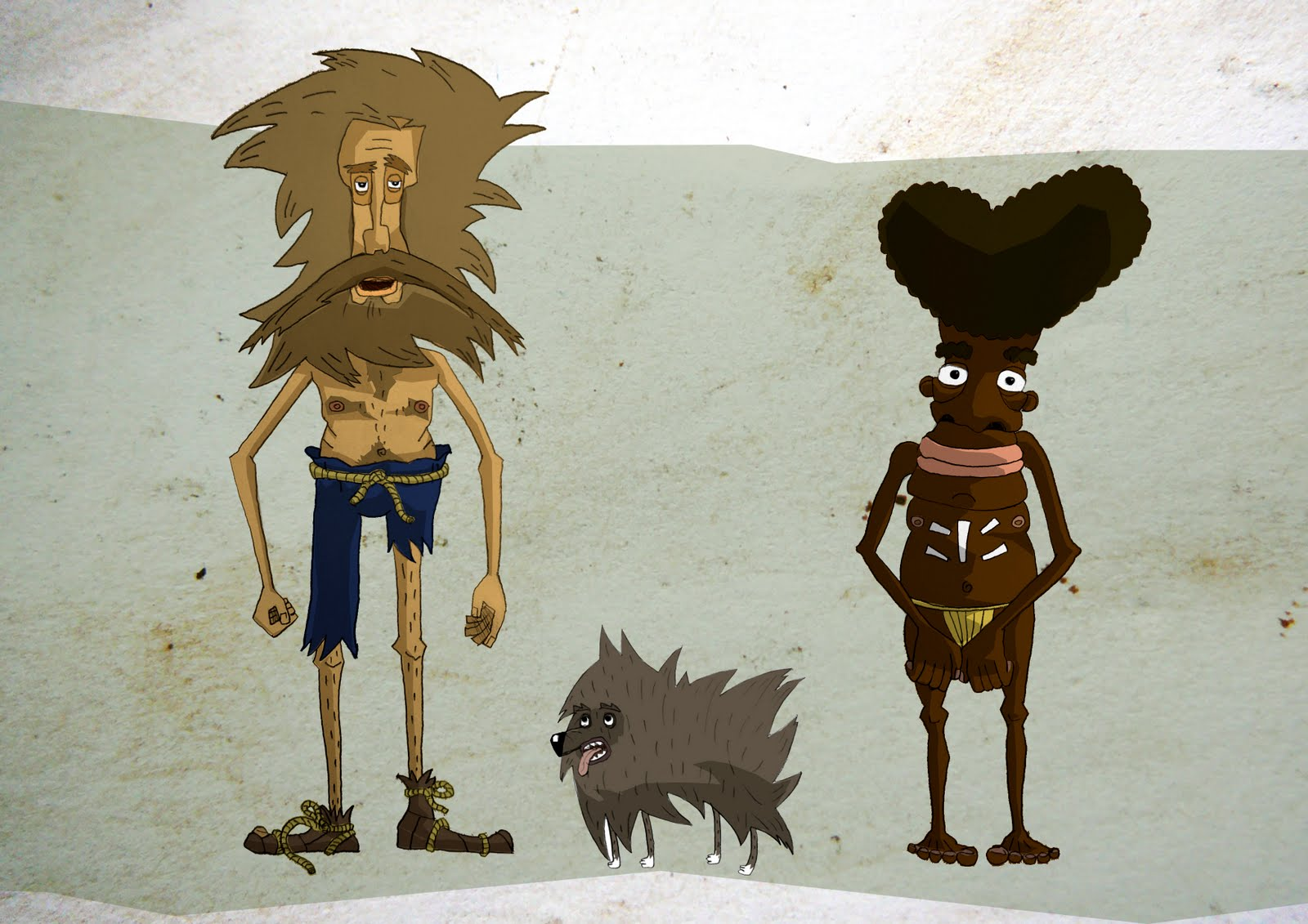 robinson crusoe characters