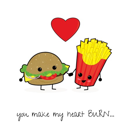 For the Love of Food The Perfect Foodie Valentines Cards – Food Valentines Cards
