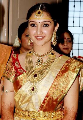 Sridevi in traditional Indian Jewellery