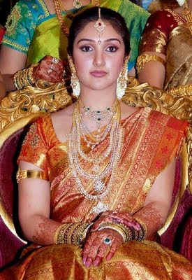 Sridevi in Bridal South Indian Jewellery